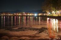 治田公園 夜桜